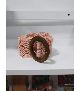 Cinturón Mima rosa